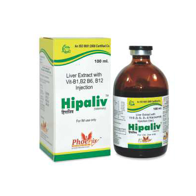 fatty liver medicine for animals